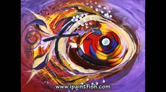 Fish Art & Fish Paintings by J. Vincent Scarpace, #3 (Modern Artwork)