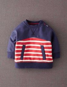 Cosy Hotchpotch Top (Mini Boden 0m-3y)