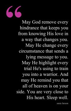 What a powerful prayer!