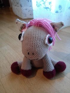 Leila il pony rosa