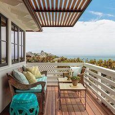 Second Floor Balcony with Pergola