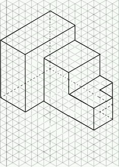 Isometric Drawing: Geometric Design