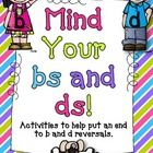 This product includes the following fun activities to help your students with b and d reversals...