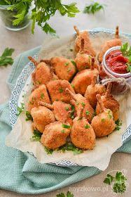 Anyżkowo: Oszukane mini '' udka '' Mary Berry, Potato Salad, Berries, Potatoes, Impreza, Chicken, Meat, Ethnic Recipes, Nice