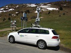 La MappyCar au Col d'Aspin dans les Pyrénées