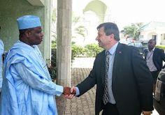 nodullnaija: British High Commissioner visits Gov. Tambuwal