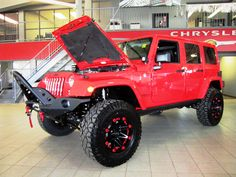 I'd trade mine in for this, in LOVE with jeeps new lobster color an the factory stepped up in their wheel game.