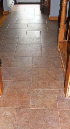 large tile | Large format tile foyer