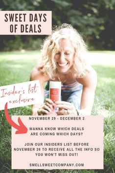 Want to know which deals are coming which days? Join our list to receive the info so you won't miss out! Organic Beauty, Organic Skin Care, Natural Skin Care, Deodorant For Women, All Natural Deodorant, Organic Lifestyle, Body Odor, Sweetest Day, Vegan