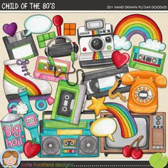 Child of the 80's - Kate Hadfield - The Lilypad - $3.49