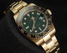 Rolex GMT-Master-II All-Gold 116718 'Random' (2014)  #rolex #watch #watches #luxury