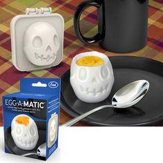 Eggamatic Skull Egg Mold