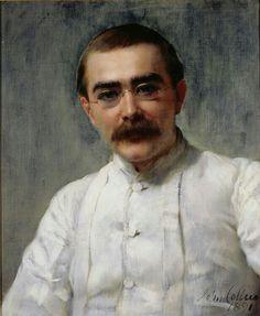 John Maler Collier. Rudyard Kipling. 1891 | The Athenaeum