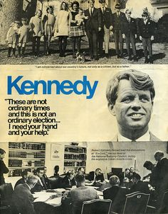 Robert Kennedy, Presidential campaign,  1968