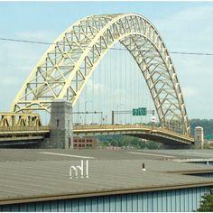Bridge in Pittsburgh  West End Bridge