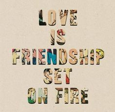 Love, friendship, quotes