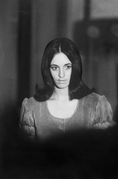 Member of Charles Manson Hippie family Susan D. Atkins indicted for murder of actress Sharon Tate and friends Helter Skelter Charles Manson, Dennis Wilson, Natural Born Killers, Evil People, Sharon Tate, Serial Killers, Atkins, Rolling Stones, Long Hair Styles