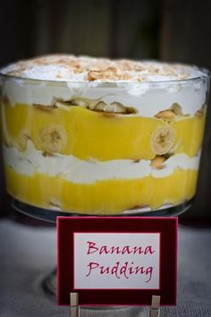 Hostess with the Mostess® - Jungle Baby Shower Banana Pudding
