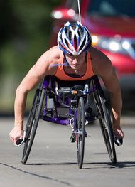 Wheelchair Racer Could Be First to Win 3 Major Marathons in a Season - NYTimes.com