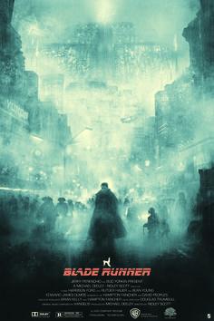 ArtStation - Blade Runner Screenprint, Karl Fitzgerald