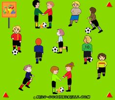 Team Games - Mr Smith and Mrs Jones - Kids Soccer - Soccer drills for kids from to - Soccer coaching with fantasy Soccer Drills For Kids, Football Drills, Best Football Players, Soccer Practice, Soccer Skills, Kids Soccer, Soccer Games, Play Soccer, Youth Soccer