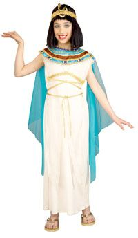 Girls Deluxe Cleopatra Costume - Egyptian Costumes