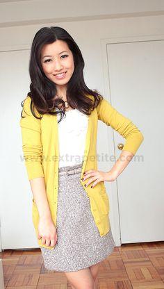 BB Dakota Groton Tweed Skirt
