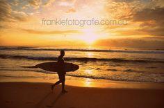 Manly Beach Sydney Surfer Australia  by FrankieFotografie on Etsy, $10.00
