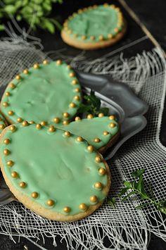 Ciasteczka - pisanki wielkanocne http://straga.pl/ciasta-i-ciasteczka/ciasteczka-wielkanocne-slodkie-pisanki/ #Wielkanoc #pisanki #ciasteczka