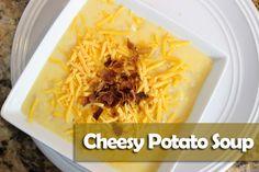 Crockpot Cheesy Potato Soup