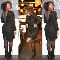Merveilleux The Beautiful Nia @glamsavvy Shops At JVC! Here Sheu0027s Wearing A Black Lace  And