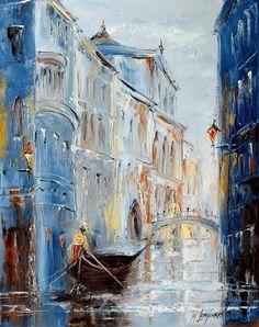 Marek Langowski - Little bridge in Venice