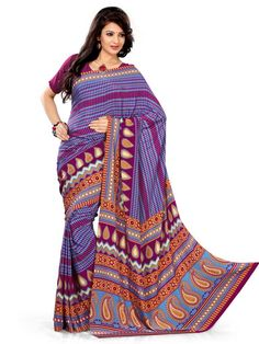 Buy gorgeous women Indian designer Sarees Online.  Free Shipping * Easy Returns * Cash On Delivery!!!  Shop here: http://www.ethnicqueen.com/eq/sarees/zara/