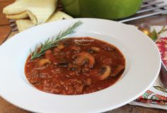 Fast Paleo » Hearty Beef & Mushroom Soup - Paleo Recipe Sharing Site