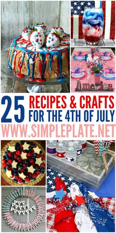 fourth of july inspired foods