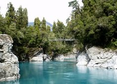 Hokitika Gorge really is one of the most beautiful places in NZ