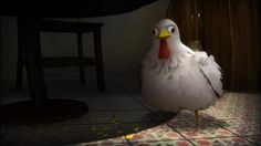 """Short Animated Film """"Pollo"""", my senior thesis at Ringling School of Art and Design.   Winner of Colombian Ministry of Culture´s National Prize for Best Digital Animation.  Screened at Siggraph Asia, Yokohama, Japan, as part of the Computer Animation Festival."""