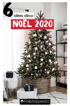 Noël 2020 : 6 idées de décorations de Noël à réaliser soi-même #noel #noel2020 #noeltendance #noeldeco #deconoel #deconoelnature #deconoeldiiy #deconoelmaison #deconoelafabriquer #noeldiy #noelcadeauxidées #noelcadeau #noelcadeaufaitmain #noeldécoration #noelcadeausapin #noelcadeausapin #cadeauxnoel #cadeauxnoelfaitmain #cadeauxnoeldiy #cadeauxnoelidees #cadeauxnoel Christmas Tree Box, Blue Christmas Decor, Decoration Christmas, Wooden Christmas Trees, Beautiful Christmas Trees, Christmas Tree Themes, Christmas Home, Holiday Decorations, Christmas Pickle