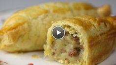 Snel ragoutbroodje - Rudolph's Bakery   24Kitchen (= bladerdeeg met een kroket erin)
