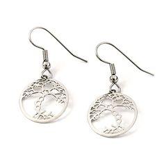 Neuron Earrings - science jewelry for geeks with taste
