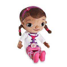"""Disney Doc Mcstuffins 21"""" Plush Cuddle Pillow Doll Toy"""