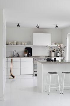 Cocina en blanco... ¡y sólo en blanco! | Decorar tu casa es facilisimo.com