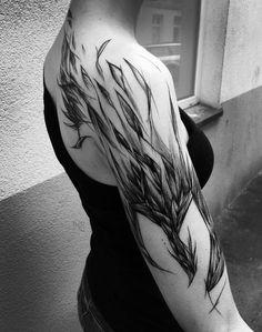 Beautiful Phoenix Tattoo