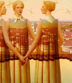 Remnev, Andrey (1962- ) - 2008 Windrose (Private Collection) by RasMarley, via Flickr