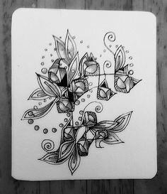 curly flower 1 by the twisted on deviantart flowers nature zentangle. Black Bedroom Furniture Sets. Home Design Ideas