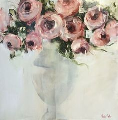 Pink Roses by Nicole Pletts