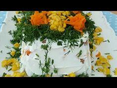 Kalıpta Yoğurtlu Etimek Salatası - YouTube