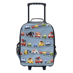 $54.50 Bobble Art - Kids Luggage Trolley Bag Traffic