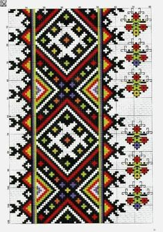 Towel Embroidery, Hand Embroidery Stitches, Beaded Embroidery, Cross Stitch Embroidery, Embroidery Patterns, Cross Stitch Designs, Cross Stitch Patterns, Etnic Pattern, Cross Stitch Rose