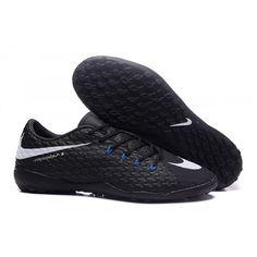 new arrival 4b388 1d7e6 chaussure de foot Nike Hypervenom Phelon III TF Noir Argent pour Homme  achat en ligne